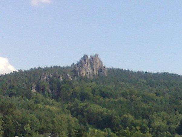Kleiner Felsen Aussicht