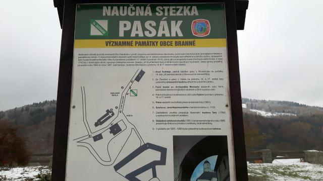 Naučná stezka Pasák