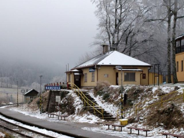 Eisenbahnhof Ramzová