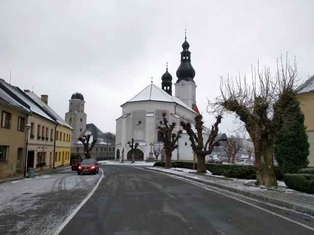 Kostel sv. Michaela Branná