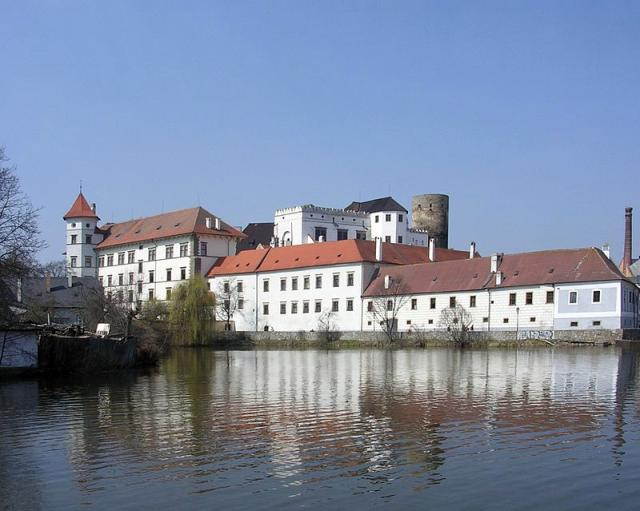 Castle and Chateau Jindřichův Hradec