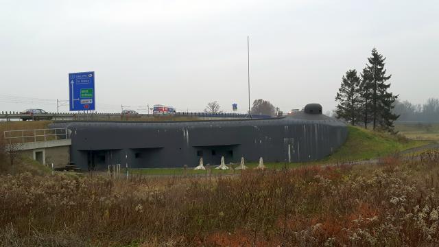 Pěchotní srub MO S5 - Bohumín