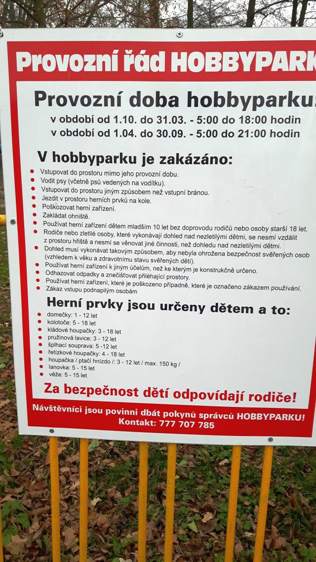Hobbypark dětské hřiště - Bohumín