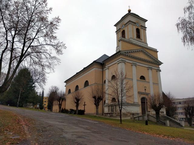 Kostel sv. Michala - Vrbno pod Pradědem