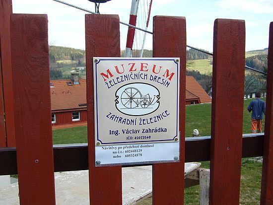 Muzeum železničních dresin - drezin