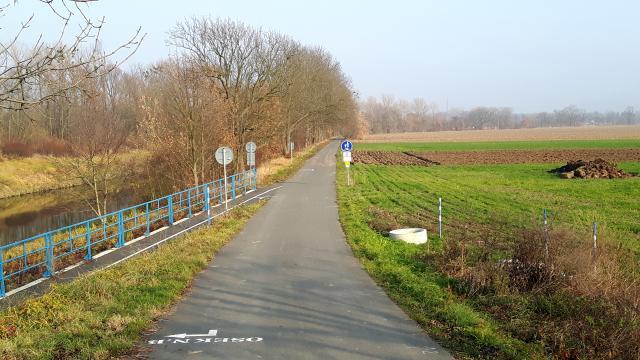 Radweg Bečva