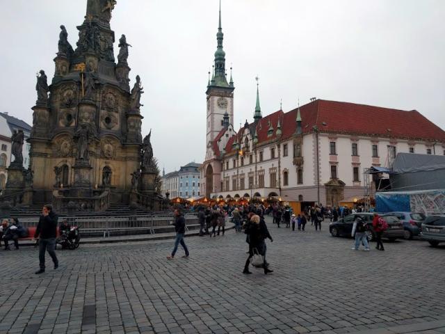 Sloup Nejsvětější Trojice - Olomouc