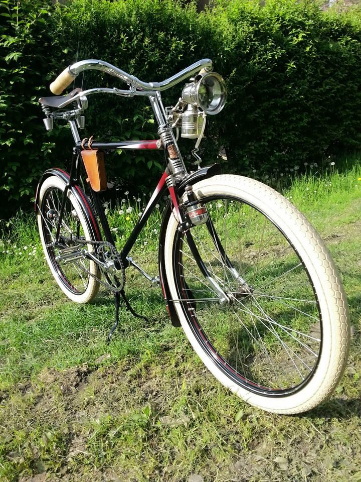 Soukromé muzeum historických bicyklů a motorek