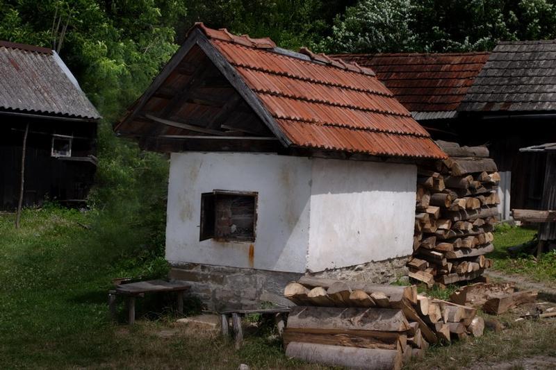 Kolonie sklářů a chlebová pec - Sidonie