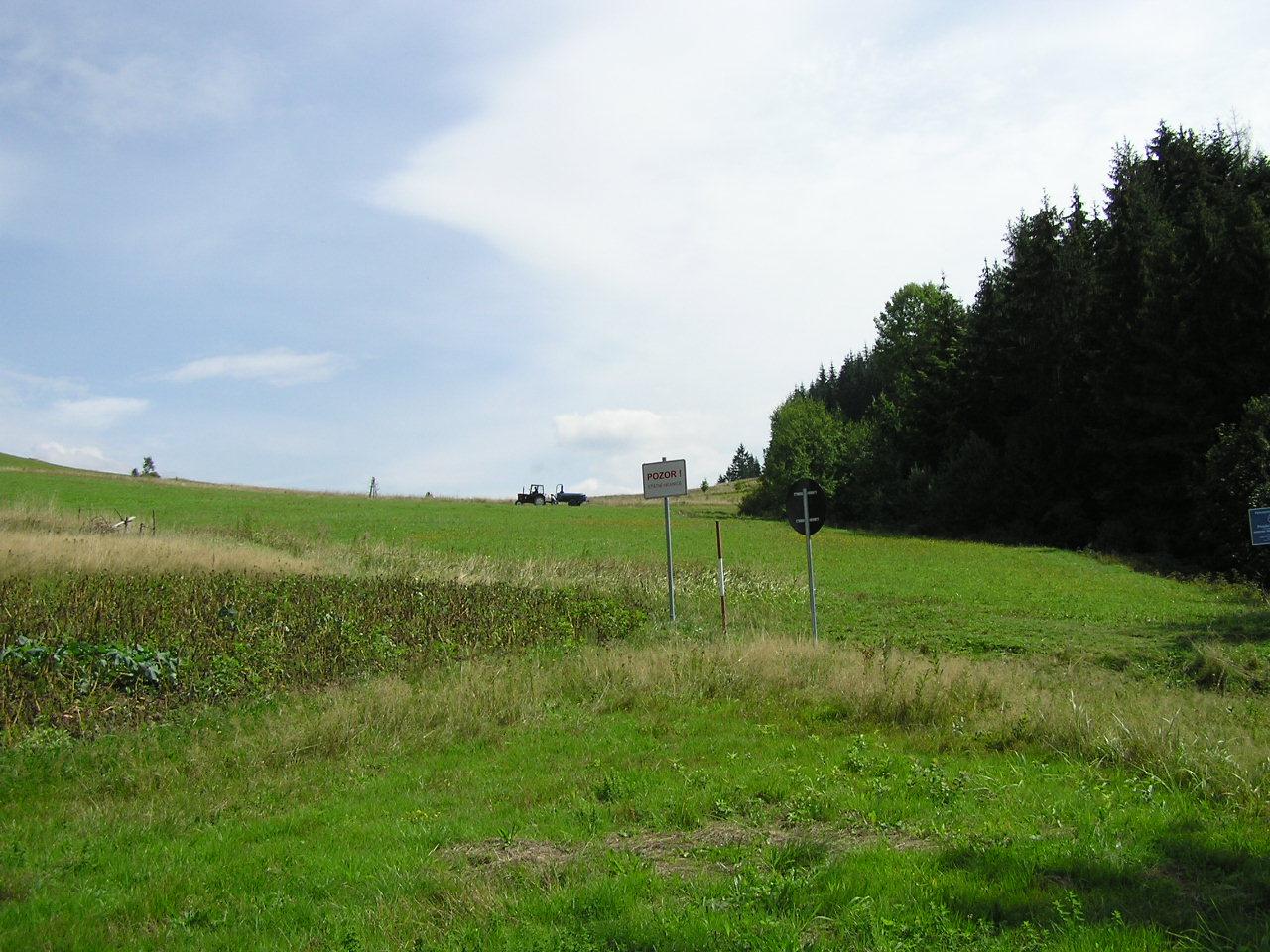 Dreiländereck -Hrčava