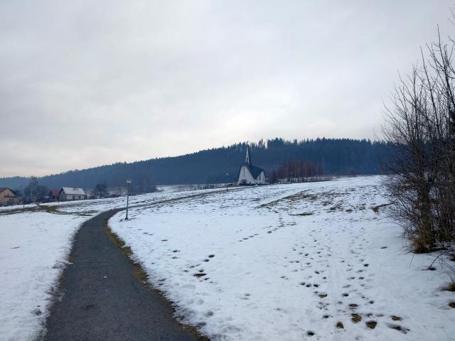 Kostel sv. Zdislavy - Prostřední Bečva