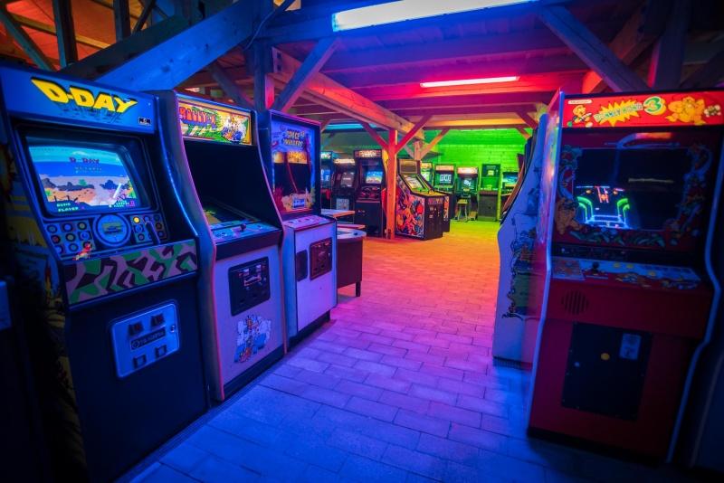 Videoherna a muzeum Arcade