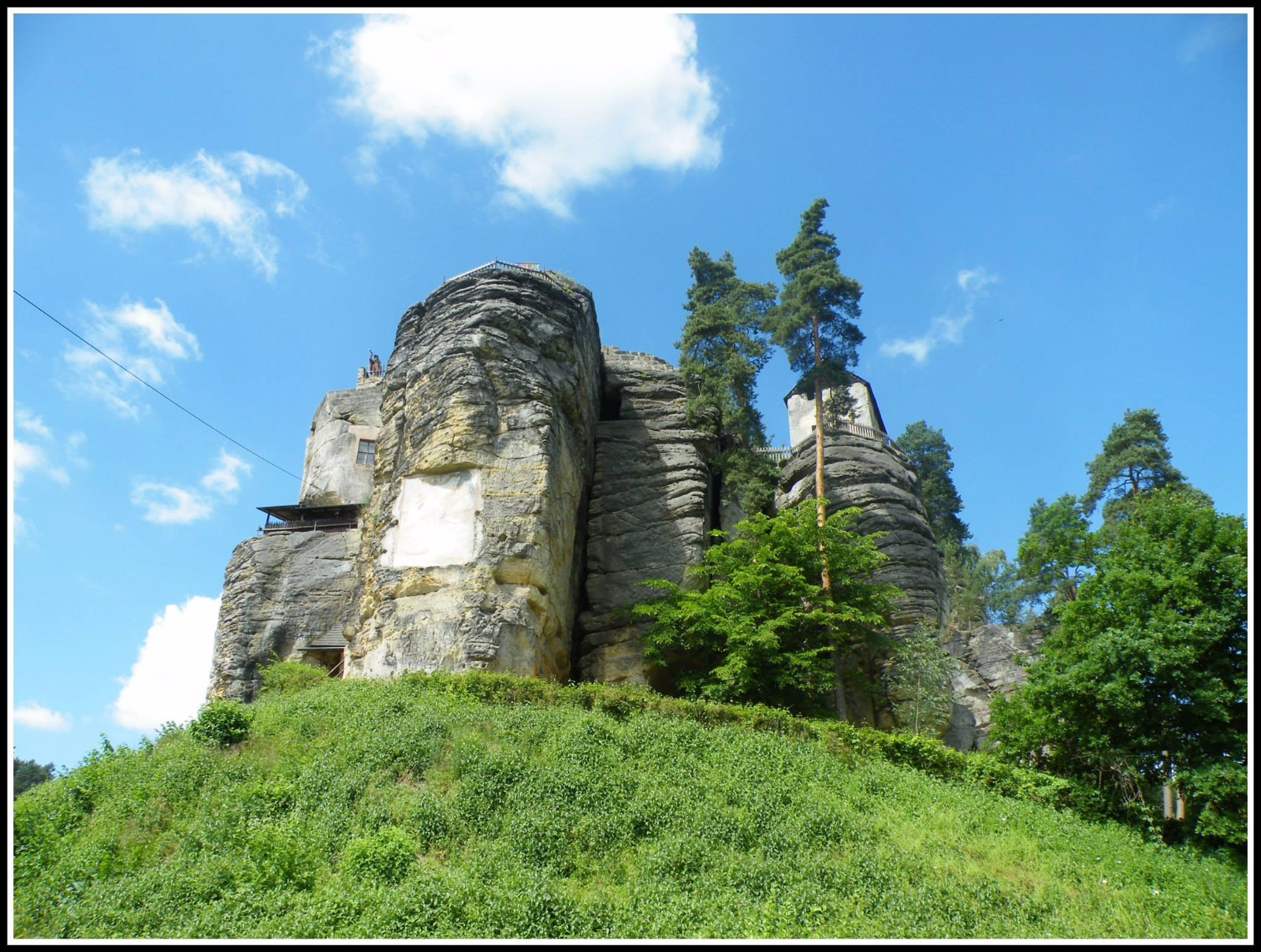 Felsenburg und Einsiedler Säule