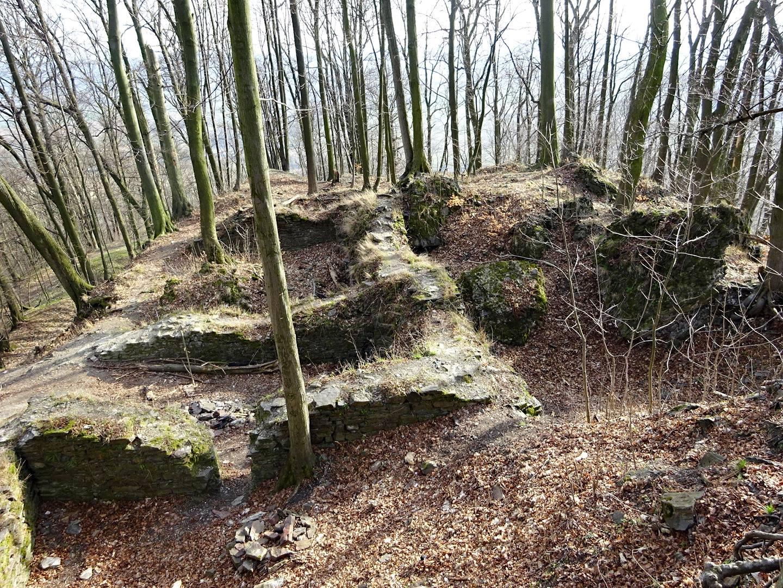 Zřícenina hradu Drahotuš