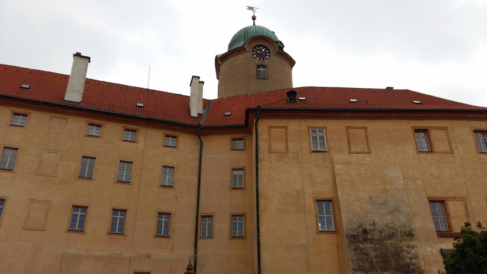 Schloss Poděbrady (Podiebrad) - Denkmal König Georg von Podiebrad