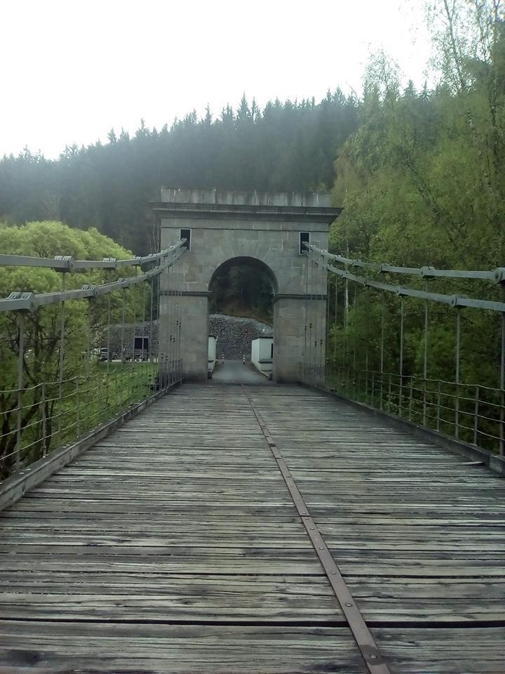 Řetězový most ve Stádlci