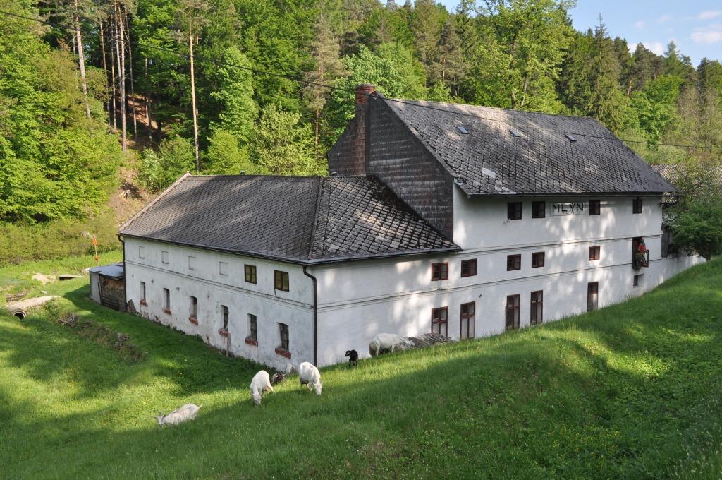 Vodní mlýn v Leskovci