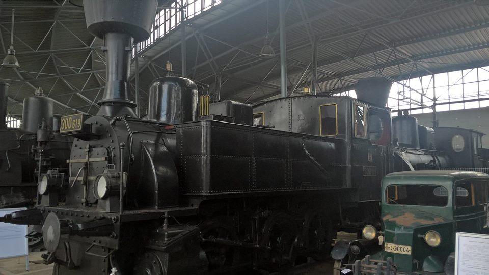 Železniční depozitář Národního technického muzea v Chomutově