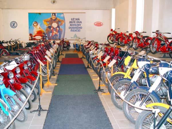 Motorrad Museum Netvořice (Networschitz)