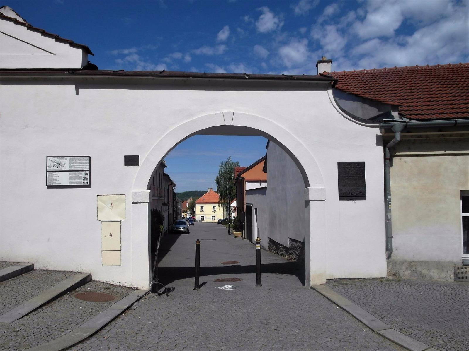 Jüdische Stadt in Boskowitz