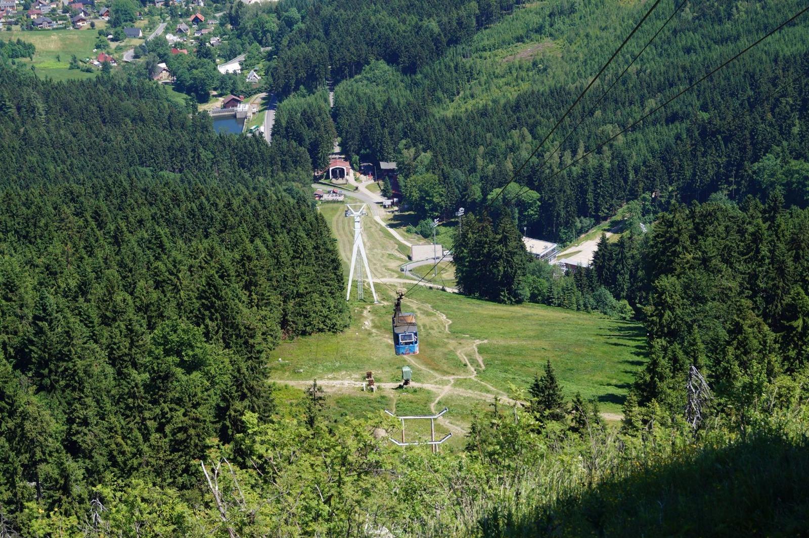 Lanovka Liberec - Ještěd
