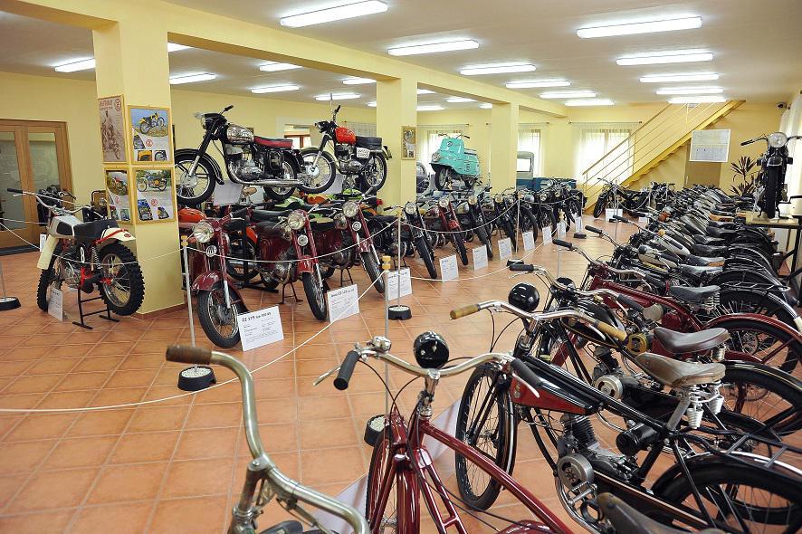 Muzeum motocyklů Křivoklát