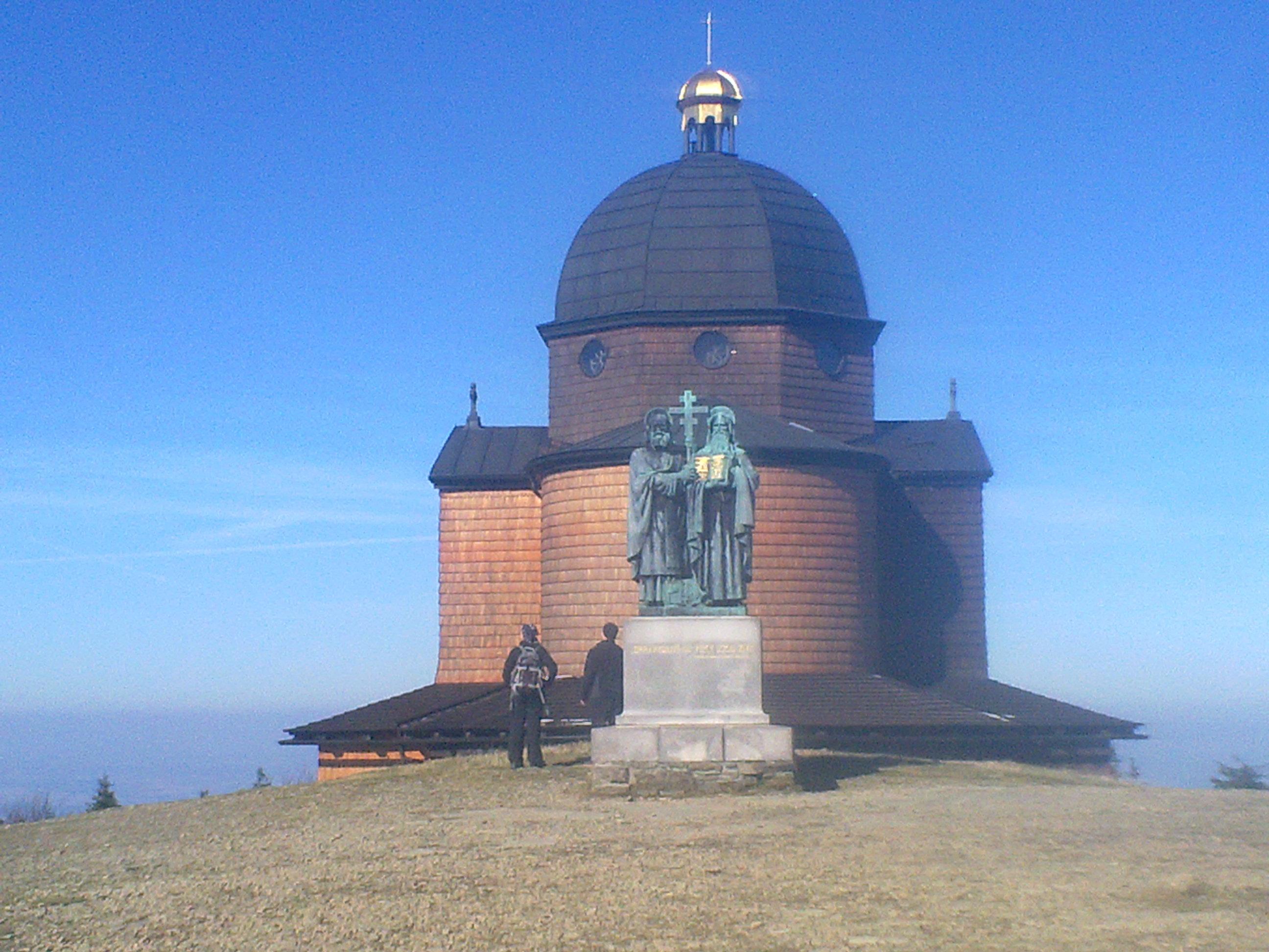 Gipfel Radhošť - Beskydy