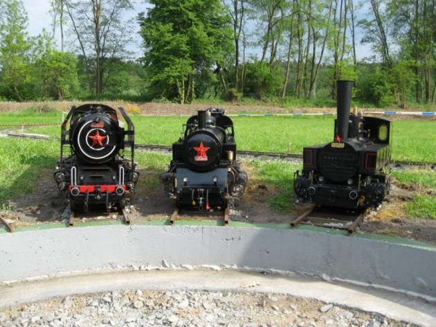 Zahradní železnice v Podhradí