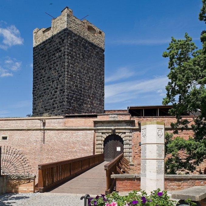 Cheb - Chebský hrad – Císařská Falc