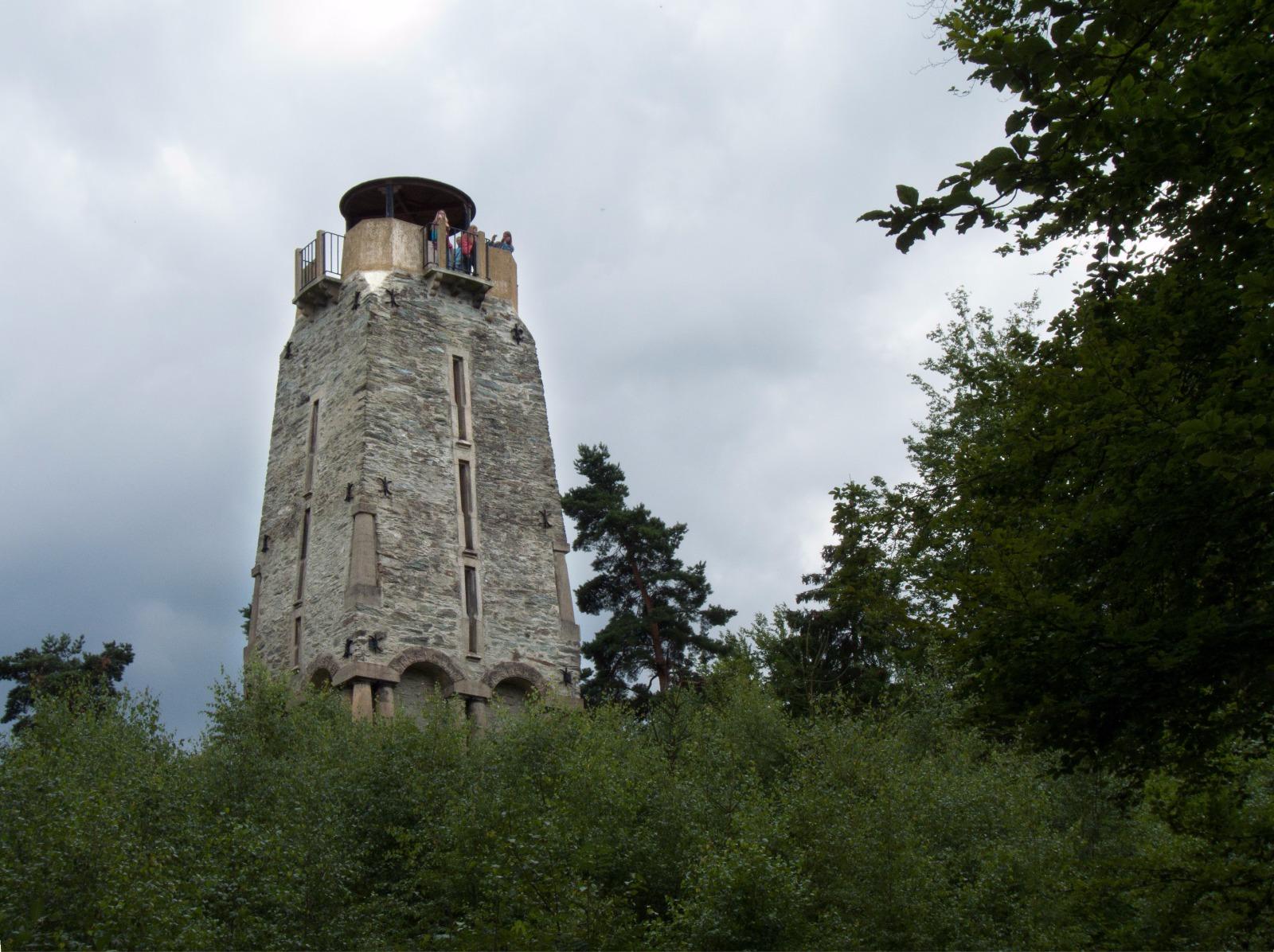 Zelená hora - Bismarckova věž - rozhledna