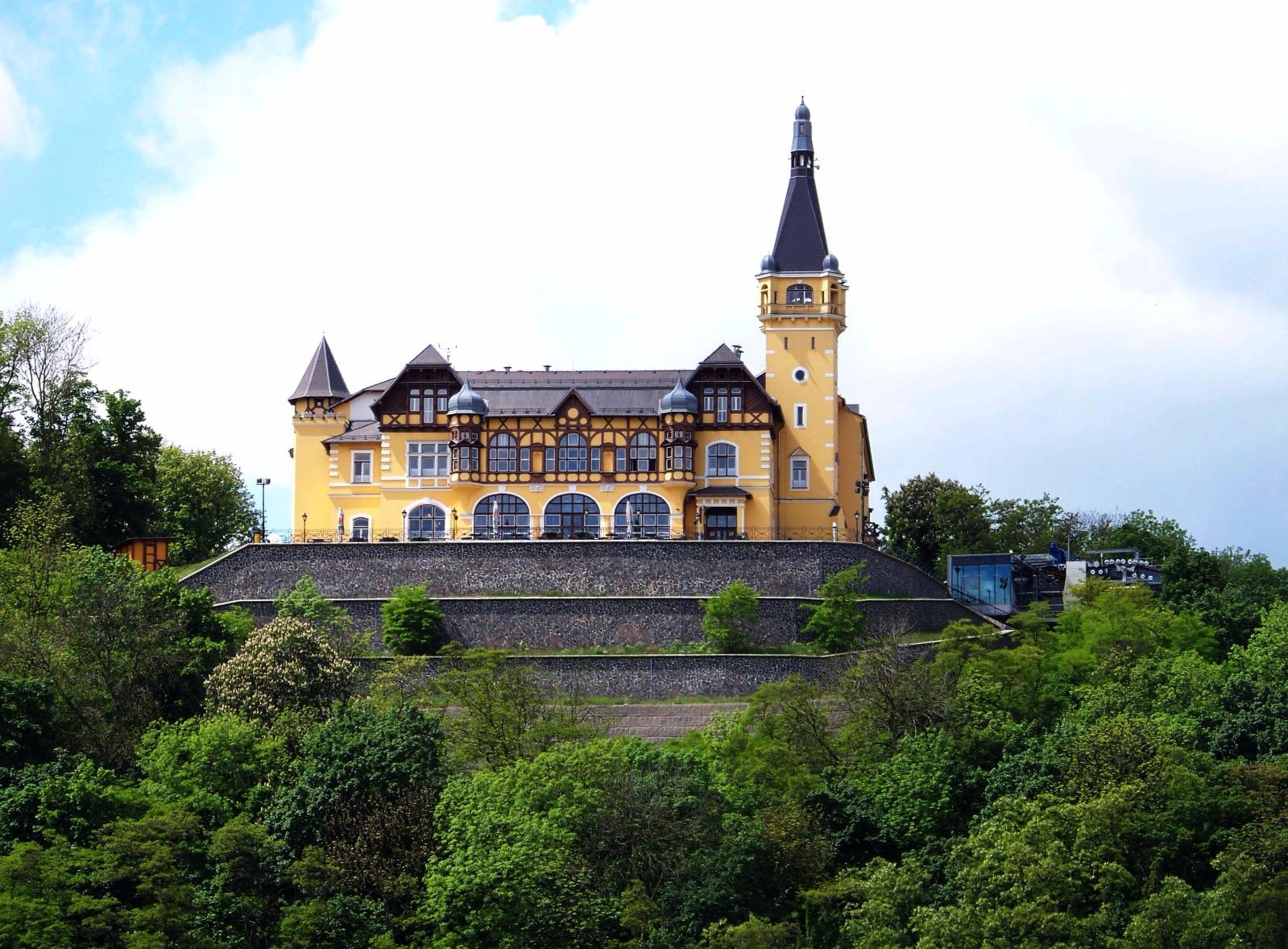 Ausflugs Schloss Větruše