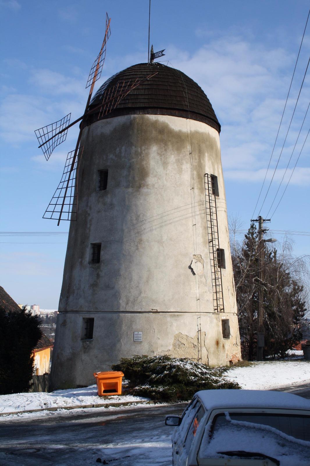 Větrný mlýn Třebíč