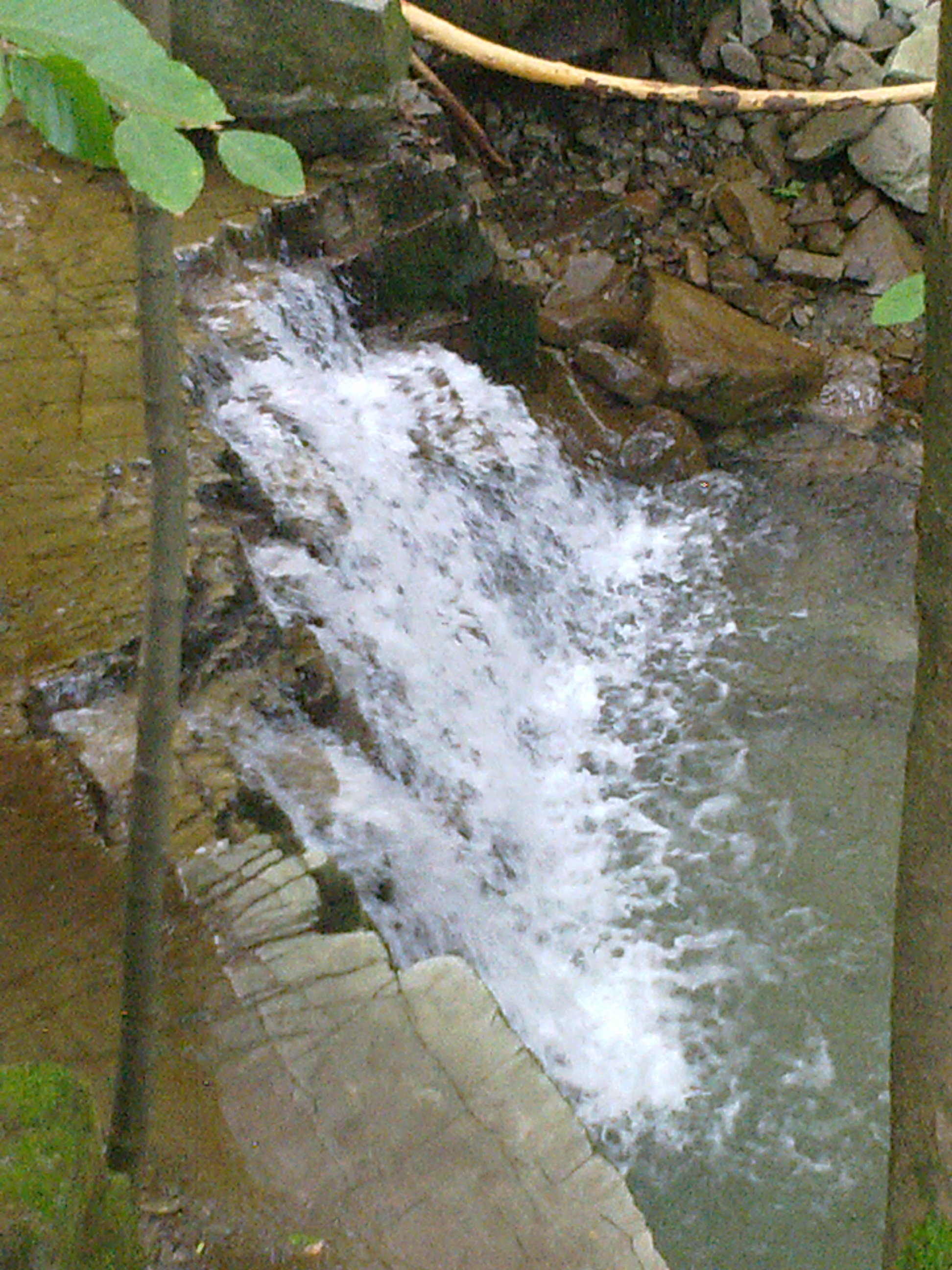 Wasserfall Satině - Beskiden